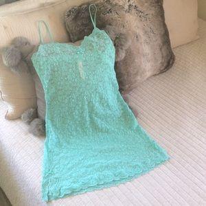 Victoria's Secret NWOT lace slip mini dress small